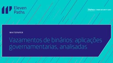 Vazamentos de binários: de bases de dados de cidadãos a senhas expostas em aplicações de governamentais